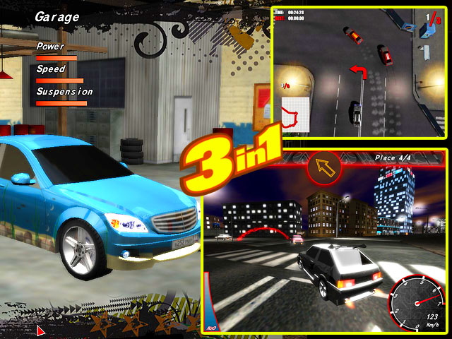 Click to view Street Racing Games Pack 1.89 screenshot