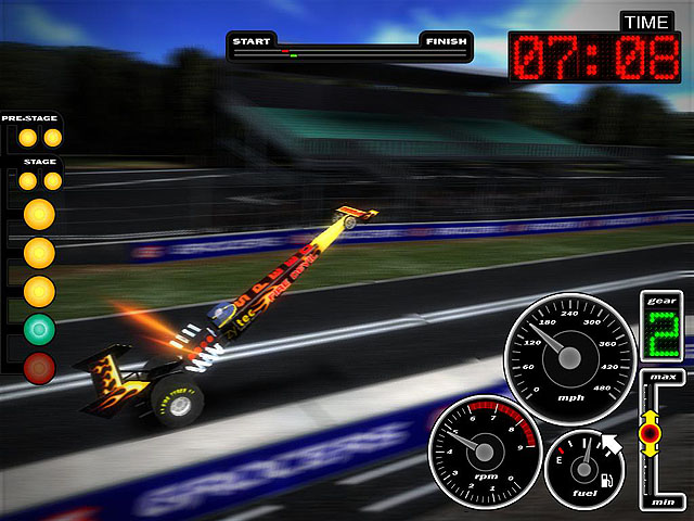 Ultra Drag Racing 1.46 screenshot