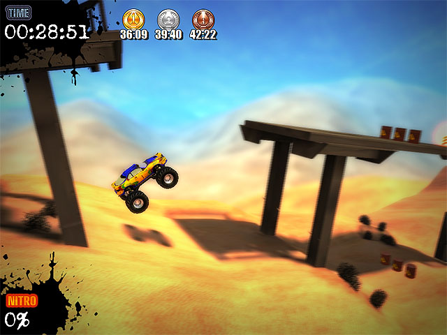Ultra Monster Truck Trial Screenshot 1
