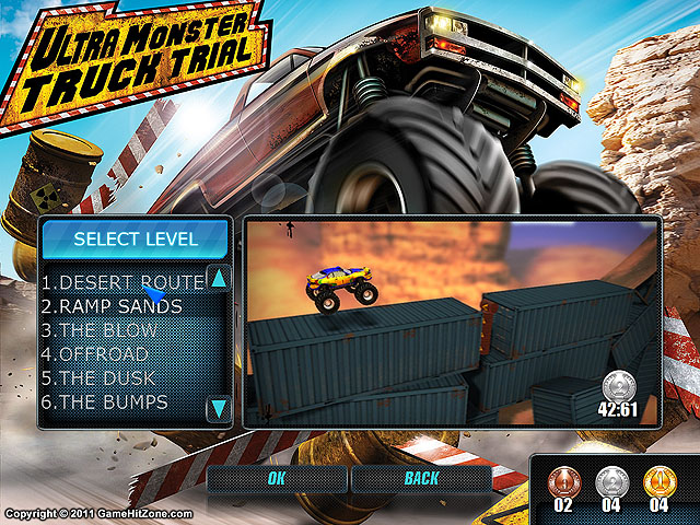Ultra Monster Truck Trial screenshot