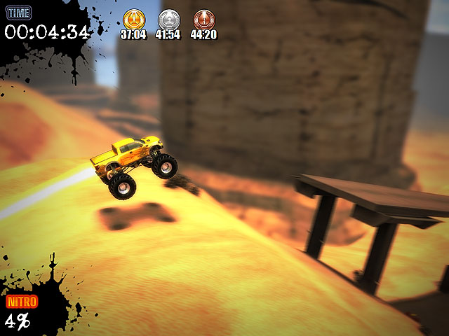 Ultra Monster Truck Trial Screenshot 3