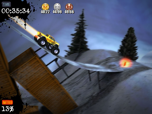 3D monster truck game. Get the best out of those monsters!