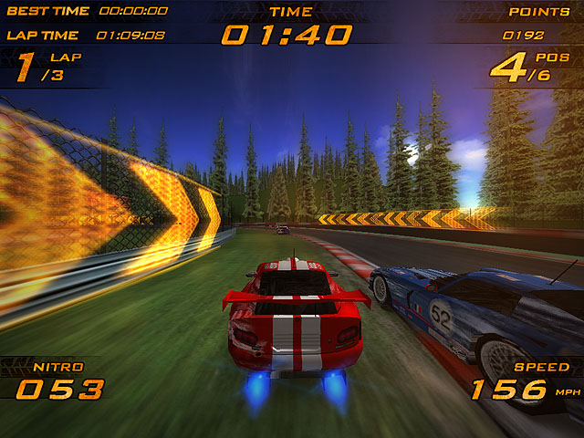 Ultra Nitro Racers Screenshot 1