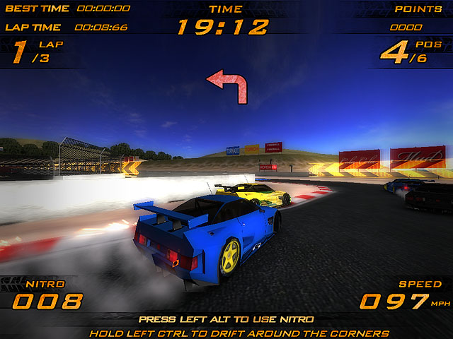 Ultra Nitro Racers Screenshot 2