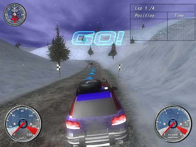 Winter Extreme Racers Screenshot 2