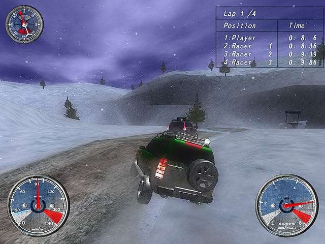 Winter Extreme Racers Screenshot 4