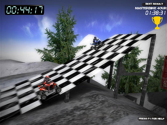 Winter Quad Racing Screenshot 1