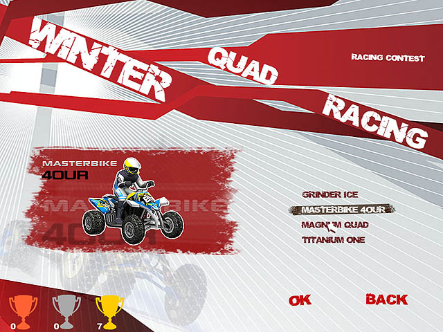 Winter Quad Racing Screenshot 3