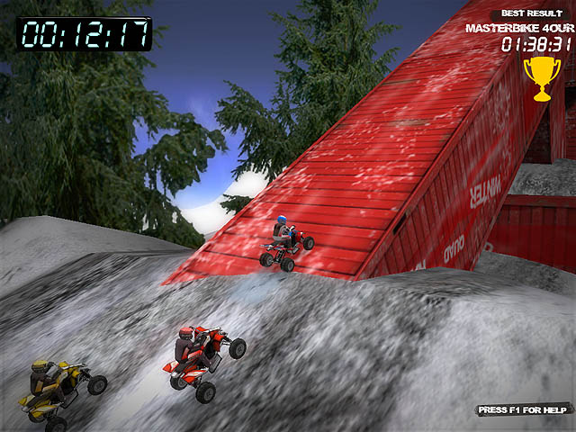 Winter Quad Racing Screenshot 4