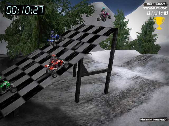 Winter Quad Racing Screenshot 5
