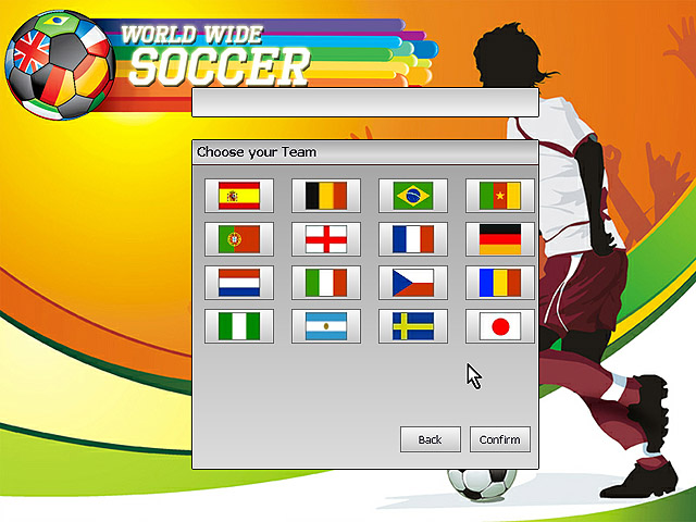 World Wide Soccer Screenshot 1