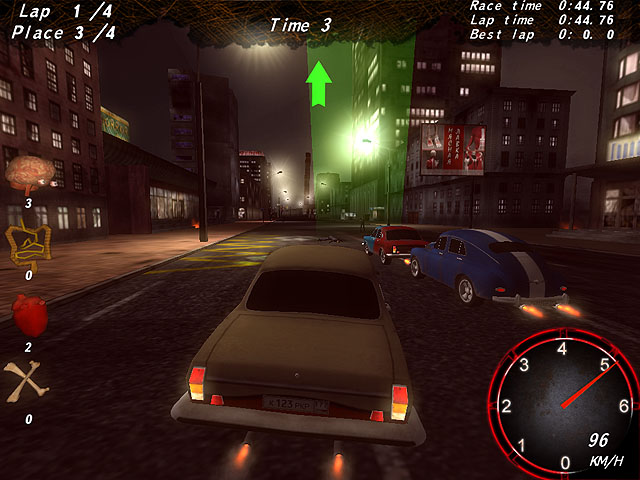 Zombie Apocalypse Racing Screenshot 1