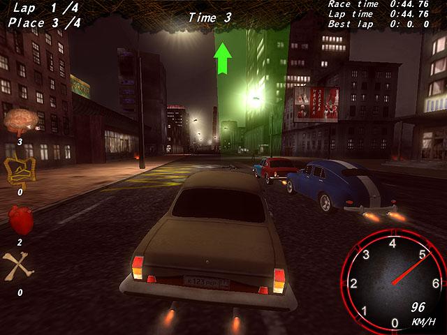 Zombie Apocalypse Racing لقطة الشاشة 1
