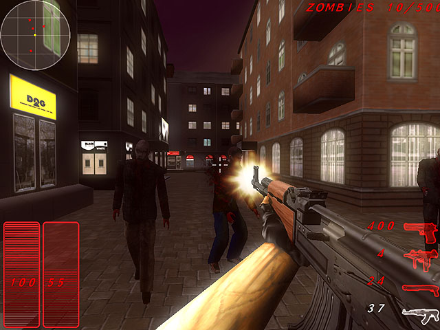 Windows 7 Zombie Apocalypse Shooter 1.99.1 full