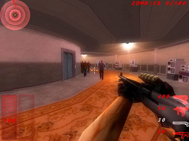 Zombie Outbreak Shooter Capture d'Écran 1