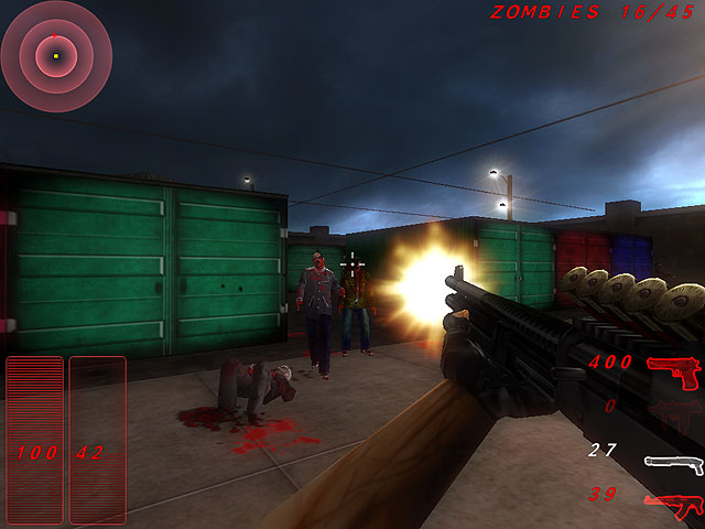 Zombie Outbreak Shooter Capture d'Écran 2