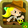 Indiara and The Skull Gold - Play this game in browser!