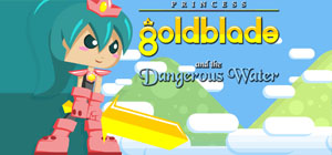 Princess Goldblade and the Dangerous Waters Screenshot