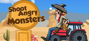 Shoot Angry Monsters Screenshot